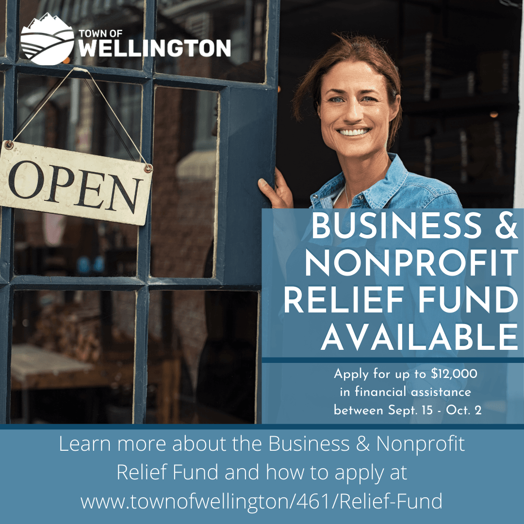 Business & Nonprofit Relief Fund Application Open