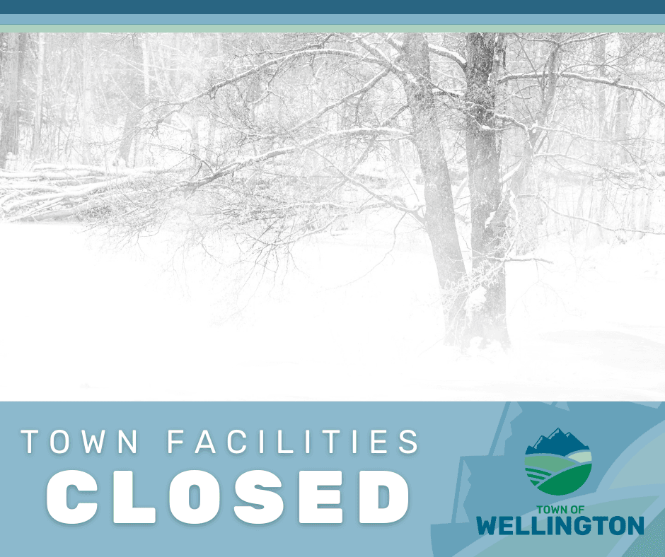 Town Facilities Closed March 15