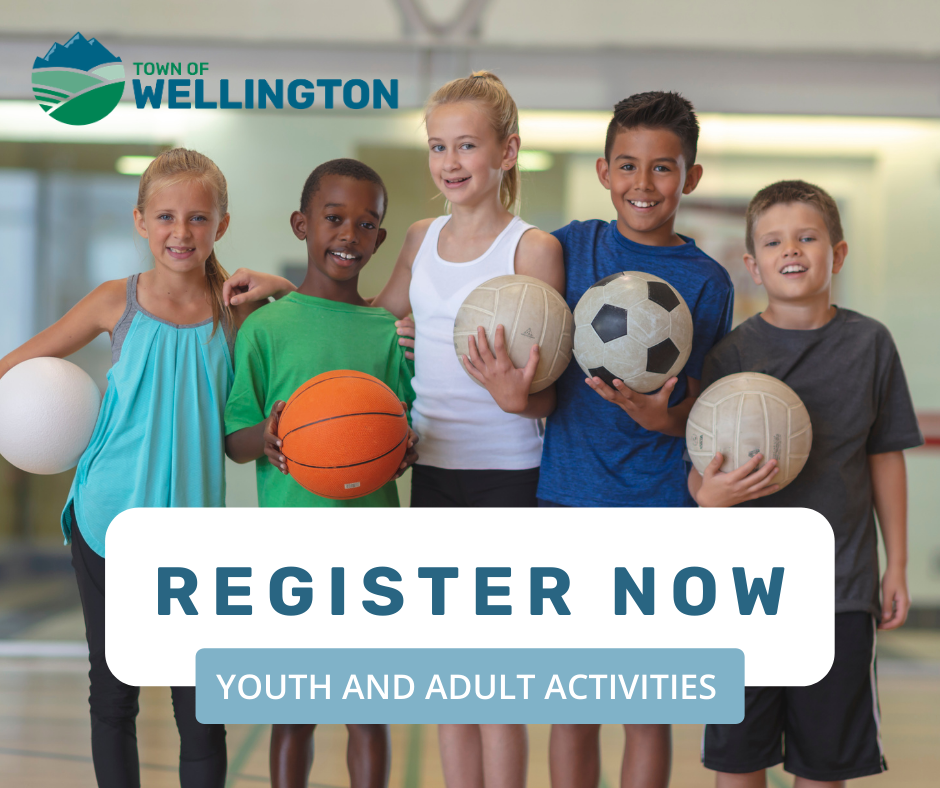 Register Now for Recreation Youth and Adult Activities