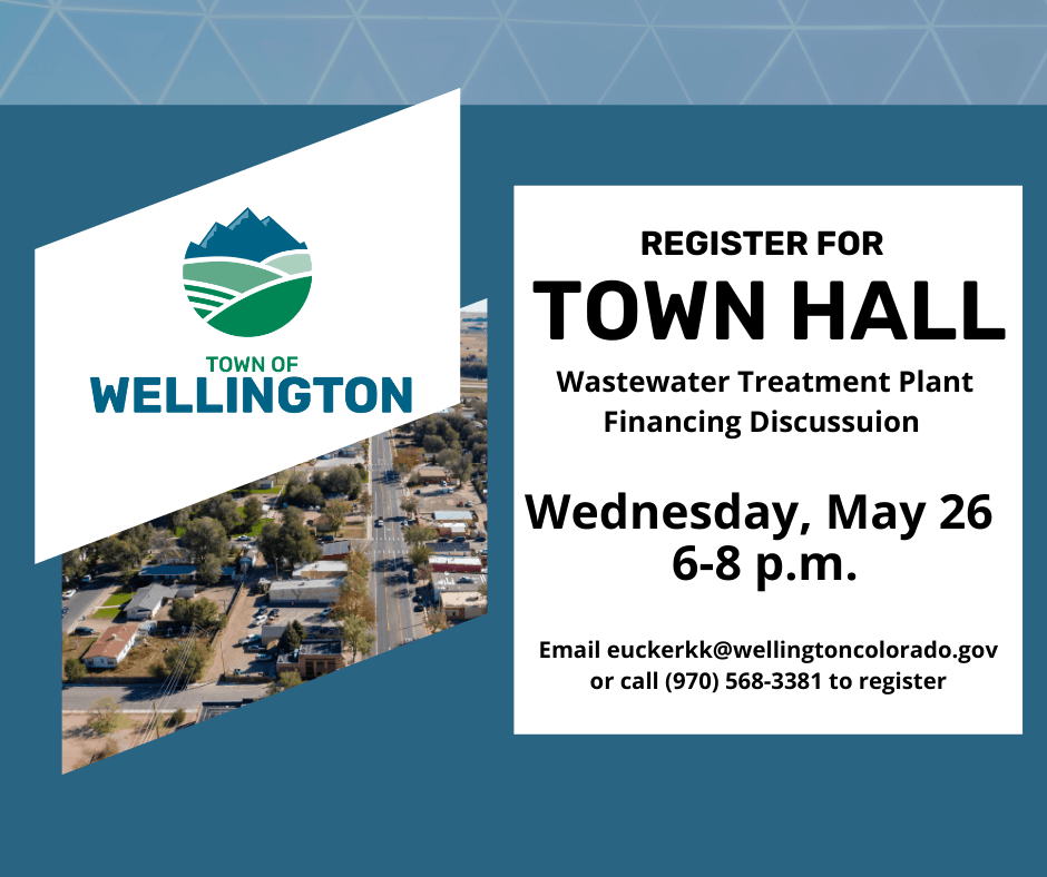 TOWN HALL on Wastewater Treatment Plant May 26 6 p.m. to 8 p.m
